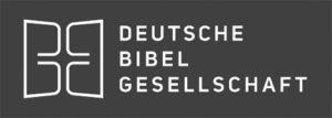 Deutsche Bibel Gesellschaft (DBG) Logo (grau)