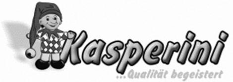 Kasperini Logo grau