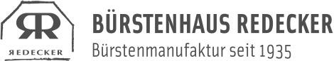 Bürstenhaus Redecker Logo grau