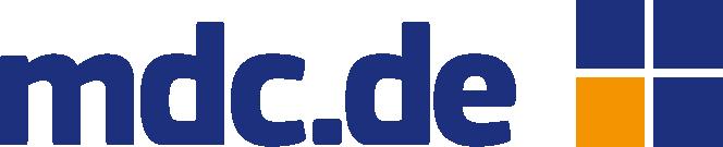 mdc.de Logo